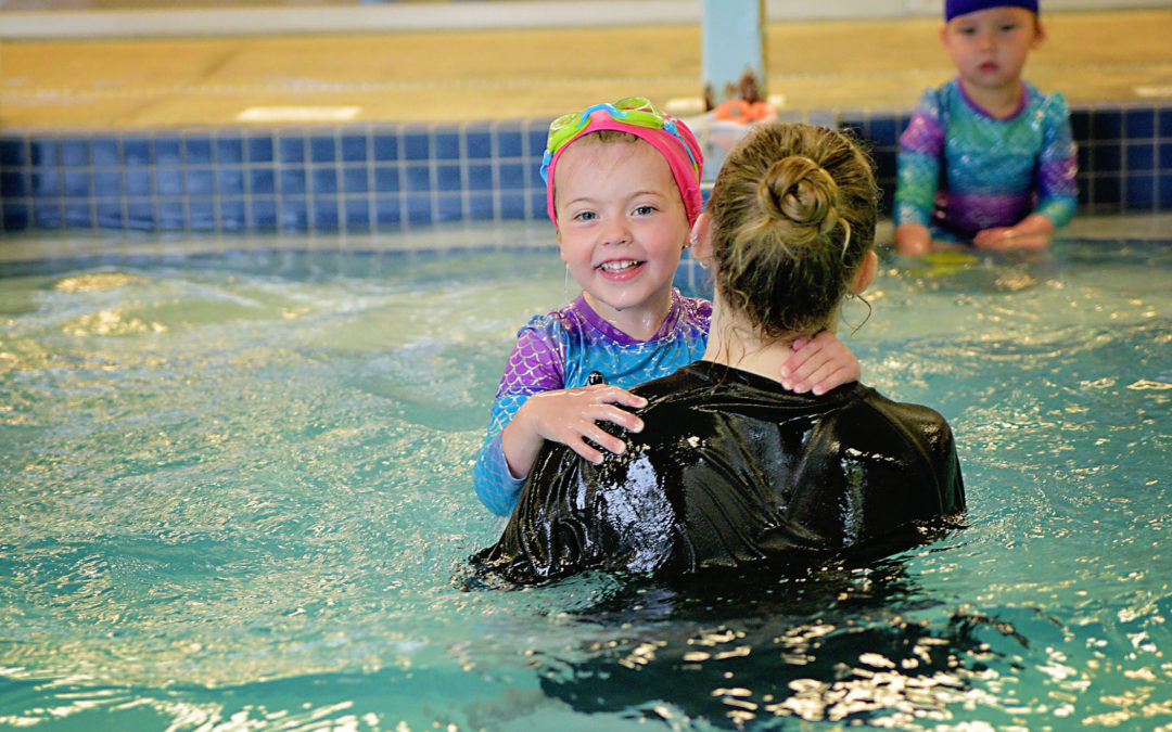 Building Relationships & Trust During Swim Lessons