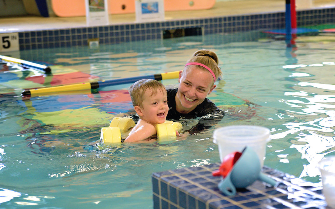 3 Ways to Prepare your Littlest Swimmer for their First Lesson!